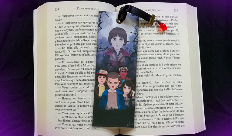 Stranger Things Marque Page
