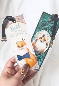 Marque-pages Le petit renard lecteur et Le démon renard – lectorinette sur Instagram