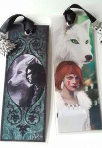 Marque-pages Jon Snow et Mononoke – ninon.basset sur Instagram