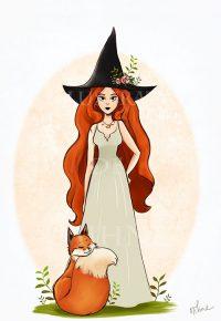 La sorcière et le renard